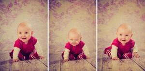 Baby Nevie studio portrait shoot. Photography by Nottingham Family Portraits photographer.