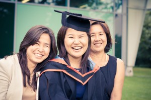 Nottingham University Graduation Ceremony. Class of 2012.