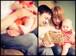 Baby and family lifestyle photography
