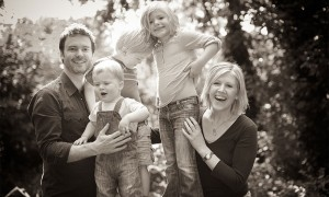 Lifestyle family portrait photography Nottingham