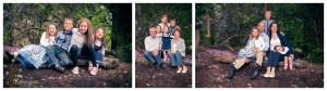 A family portrait shoot in Bramcote Park, Nottingham