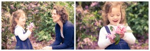 A family portrait shoot in Bramcote Park, Nottingham