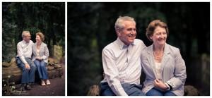 A family portrait shoot in Bramcote Park
