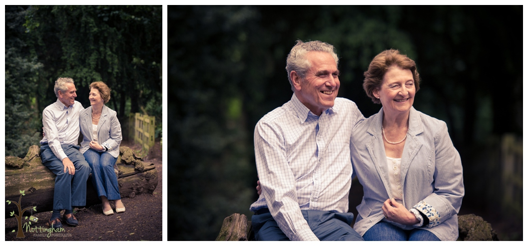 A family portrait shoot in Bramcote Park