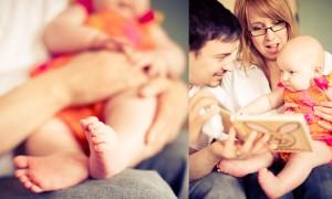 Nottingham lifestyle baby photographer